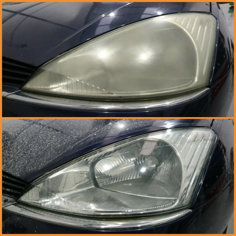Image result for headlight restoration