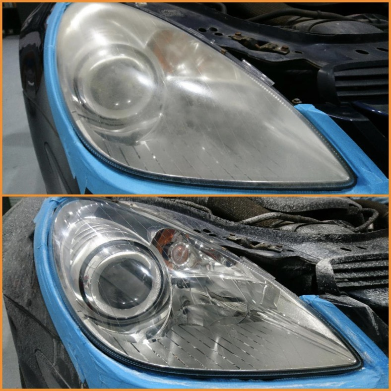 Headlight Restoration in Wellington - South West Tinting Taunton